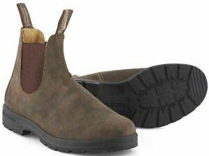 BLUNDSTONE Schuh 585 Rustic Brown Original Herren Echtleder Chelsea Boot