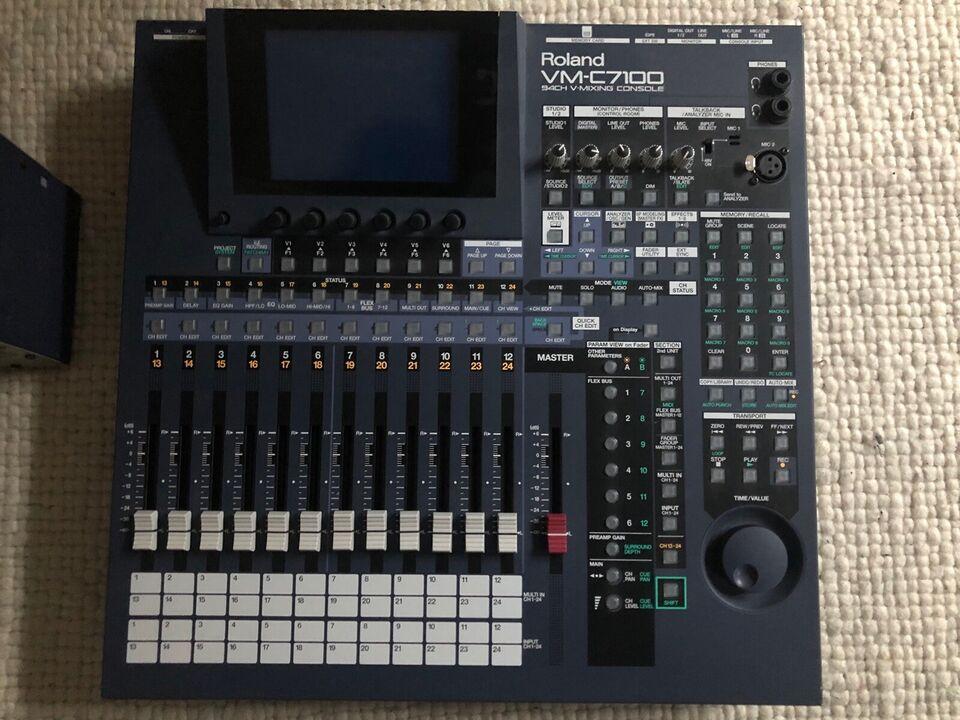 Digital mixer Roland VM-C7100 + VM-7100, Roland VM -C7100 +