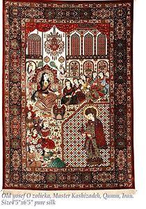 Persian Rug-Rare Museum Quality Pre