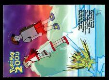 POKEMON TOPPS MOVIE 2000 CHASE STICKER N° 3 of 10 ZAPDOS ELECTHOR