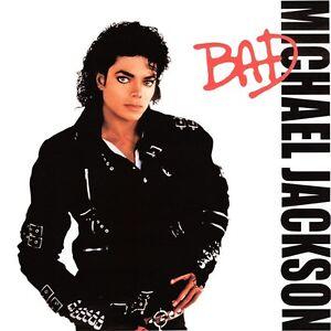 michael jackson bad album cover metal sign ebay