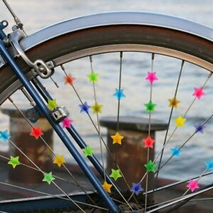 36pc-Bicycle-Bike-Wheel-Plastic-Spoke-Bead-Children-Kids-Clip-Colored-Decoration