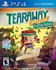 Tearaway Unfolded: Crafted Edition [PlayStation 4 PS4, LBP Paper Adventure] NEW
