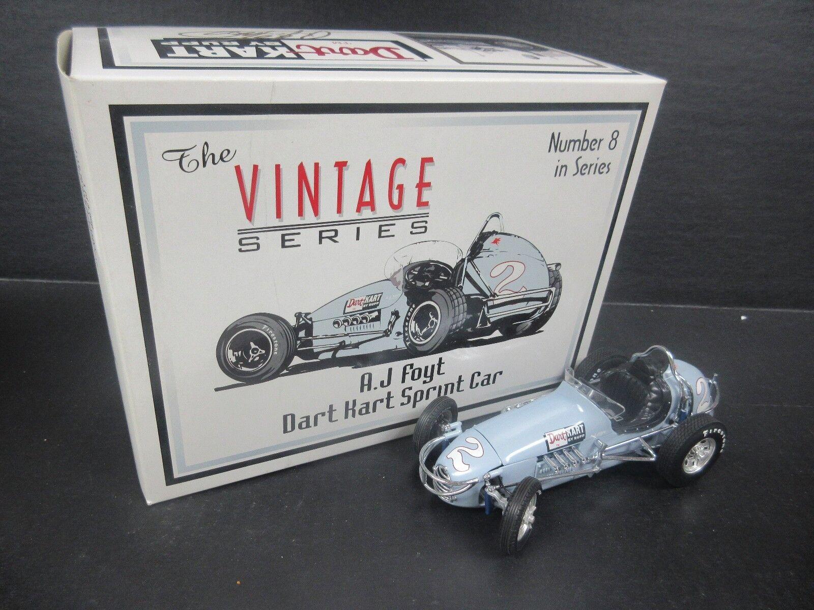 GMP AJ Foyt 1960 Dardos Kart 1 18th coche escala Vintage Sprint