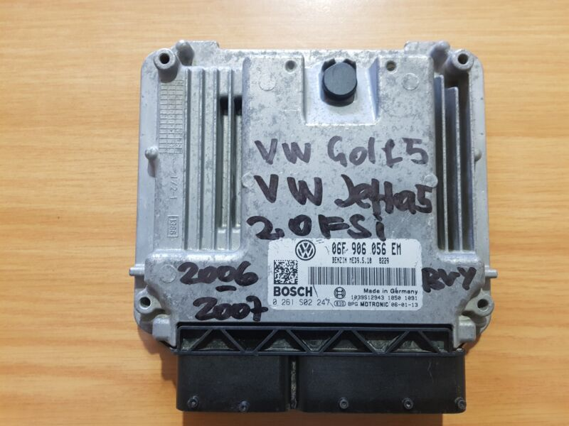 VW Golf 5 2.0 FSI 2005-2007 Bosch ECU part# 06F 906 056 EM