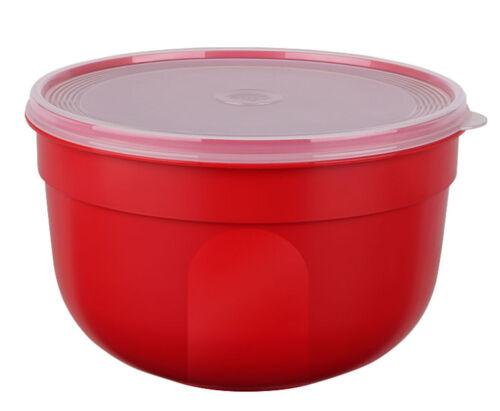 EMSA SUPERLINE Colours rot Frischhalteschüssel Frischhaltedose Vorratsdose 4,0L