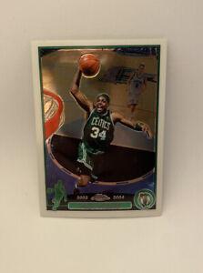 2003-04 Paul Pierce Topps Chrome Boston Celtics HOF Non Rookie MINT QTY INVEST📈