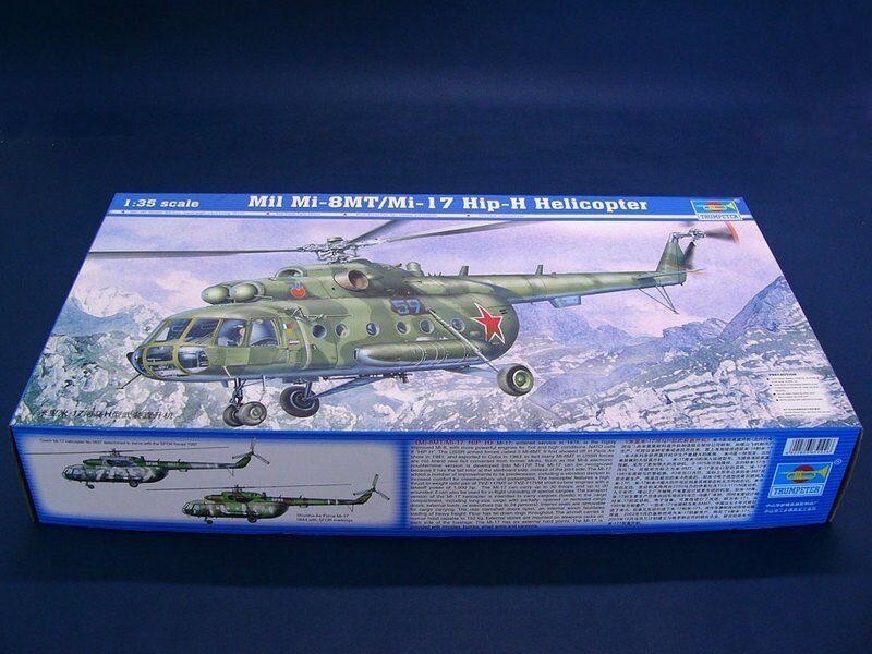 Trumpeter 1 35 05102 Mil Mi-8MT Mi-17 Hip-H Helicopter