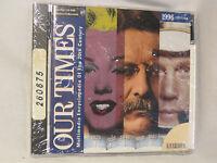 Our Times Multimedia Encyclopedia 20th Century 1996 Vicarious Cd Windows Mac