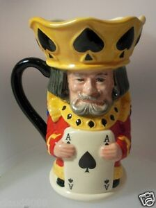 ROYAL-DOULTON-KING-and-QUEEN-OF-SPADES-TOBY-JUG-D7087-MINT-IN-BOX