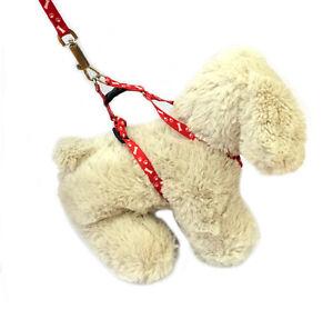 Resistente-a-la-intemperie-Ajustable-Mascota-Perro-Gato-Conejo-Arnes-amp-Juego-De-Plomo-4-Colores-2