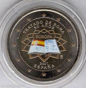 Espana-2-Euros-2007-Tratado-de-Roma-ESMALTADA-coloreada-N-2-A