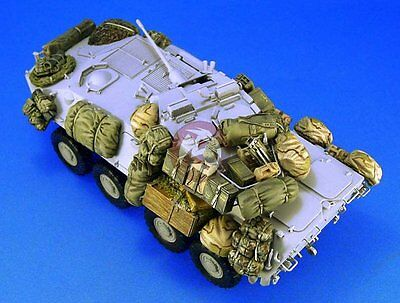Legend 1/35 LAV-25 Amphibious Reconnaissance Vehicle Stowage Accessories LF1113