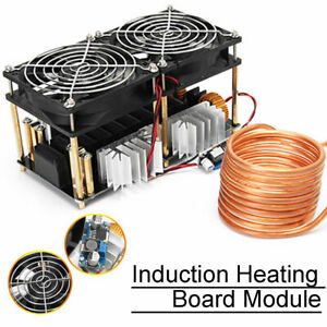 2500W-ZVS-Induction-Heating-Board-Module-Flyback-Driver-Heater-Tesla-Coil-Fan