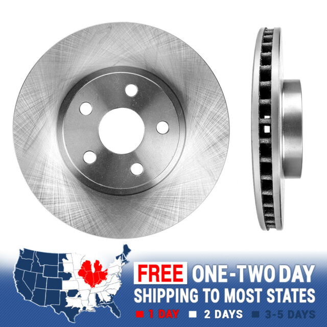 2 Front Premium OE Brake Disc Rotors For 2009 2010 2011 2012 2013 TOYOTA VENZA