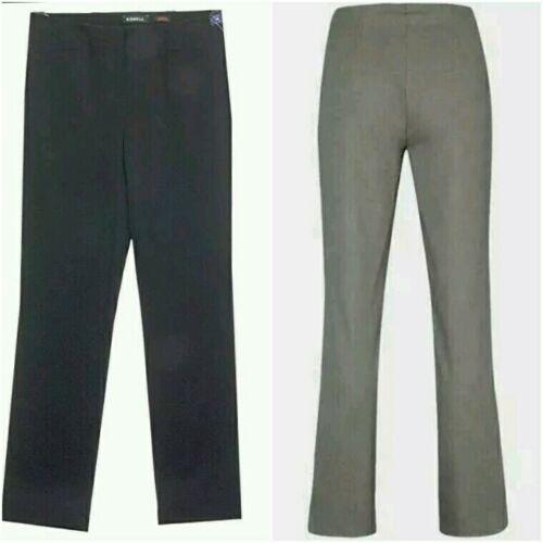 robell Donna Jacklyn 78cm Loose Fit Piena Lunghezza Pantaloni Casual Grigio//Blu Scuro 5,54