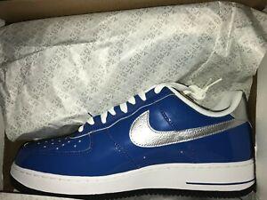 nike air force one 1 bleu