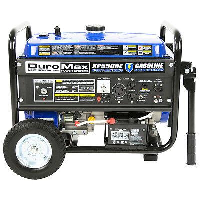 DuroMax XP5500E 5,500 Watt 7.5 HP Portable Electric Start Gas Generator