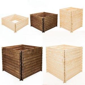 stabiler holzkomposter komposter kompostbeh lter holz. Black Bedroom Furniture Sets. Home Design Ideas