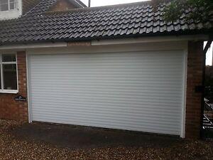 Insulated Garage Roller Door Electric Remote Control