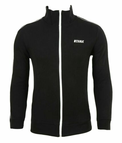 TAMA Trainingsjacke in schwarz mit Logo auf der linken Brust TTT12 L
