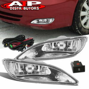 For 05-08 Corolla Clear Front Driving Fog Light Lamp Pair ...