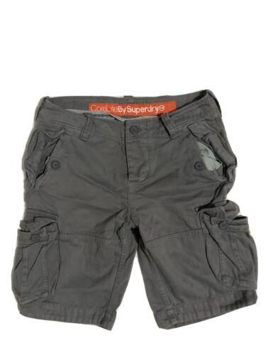 British Design Sprit Of Japan L Superdry Shorts Grey Size Large