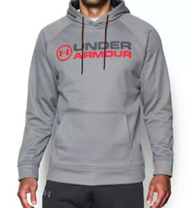 Men's Medium Under Armour Hoodie Gray Storm Sweater Jacket