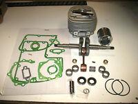Cylinder Piston Engine Rebuild Kit Stihl Ms070 Ms090 58mm 070 090 Crankshaft Ms