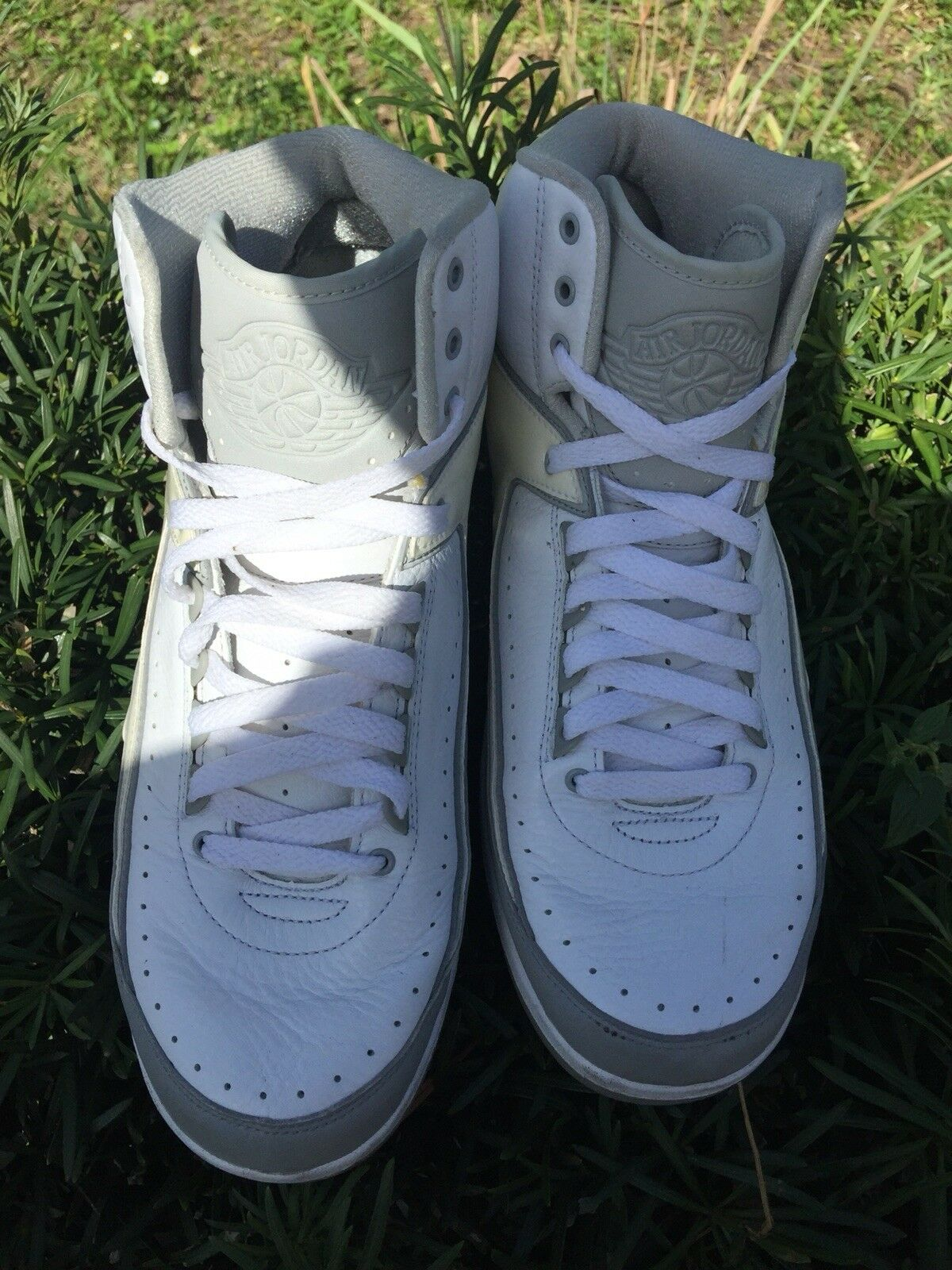 air jordan retro 2 all white size 11 Cheap and beautiful fashion