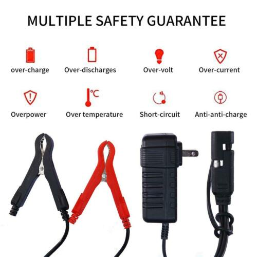 Smart Charging Battery Charger Maintainer 12V Trickle RV Car Truck Motorcycle