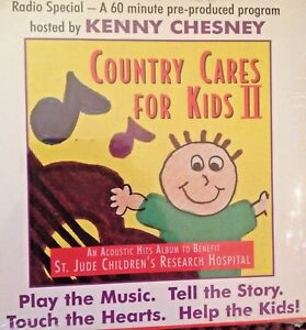 RADIO-SHOW-COUNTRY-CARES-FOR-KIDS-w-HOST-KENNY-CHESNEY-1-HR-ALL-ACOUSTIC-NEW