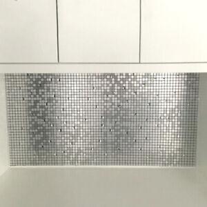 Tile Wall Sticker Peel Stick Self Adhesive Backsplash Mosaic Sticker 300 300mm Ebay
