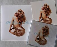 """KYLIE MINOGUE * INTO THE BLUE * UK LIMITED EDITION 7"""", CD & ARTCARD SET * BN&M!"""
