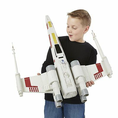 80cm BIG! Star Wars The Force Awakens X Wing Fighter Ship