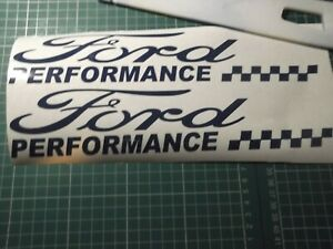 FORD  PERFORMANCE SPORT  CAR STICKERS DECAL