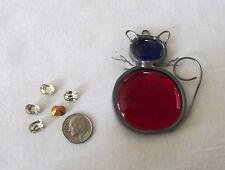 5 Vintage Crystal 8mm x 6mm Octagon Rhinestones jewelry repair loose