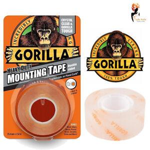 Gorilla-Glue-Mounting-Tape-Heavy-Duty-Double-Sided-Weatherproof-Crystal-Clear