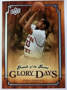 2009-10-Upper-Deck-Greats-of-the-Game-James-Harden-90-Arizona-State-Sun-Devils