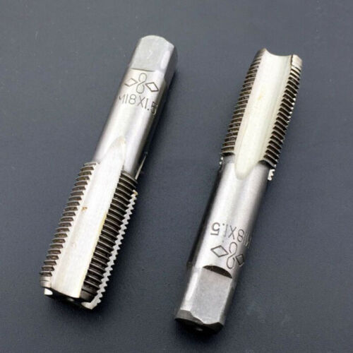 Replacement Tap Equipment Thread M18x1.5mm Tools Silver High-Speed Steel