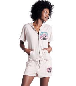 shirt Capuche Brand Rose M Namaste Femmes le Lucky P Molleton Sweat Uqzw4BBn6
