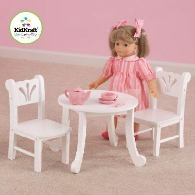 """18/"""" Doll Gombe Rainforest Camp Table /& Chair Set Fits American Girl Furniture"""
