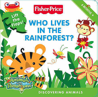 """""""VERY GOOD"""" Fisher-Price Animals of the Rainforest – Who Lives in the Rainforest"""