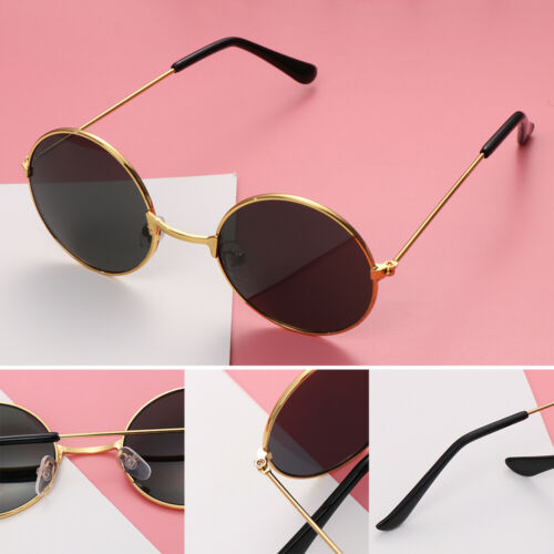 Color Film Streetwear Trend Round Sun Glasses Retro Eyewear Children Sunglasses