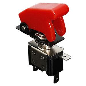 Interrupteur-Inverseur-a-Bascule-Levier-On-Off-LED-ON-OFF-SPST-COUVERTURE-WT