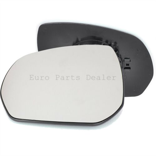Passenger Side HEATED WING DOOR MIRROR GLASS Peugeot 3008 2009-16 Clip On New