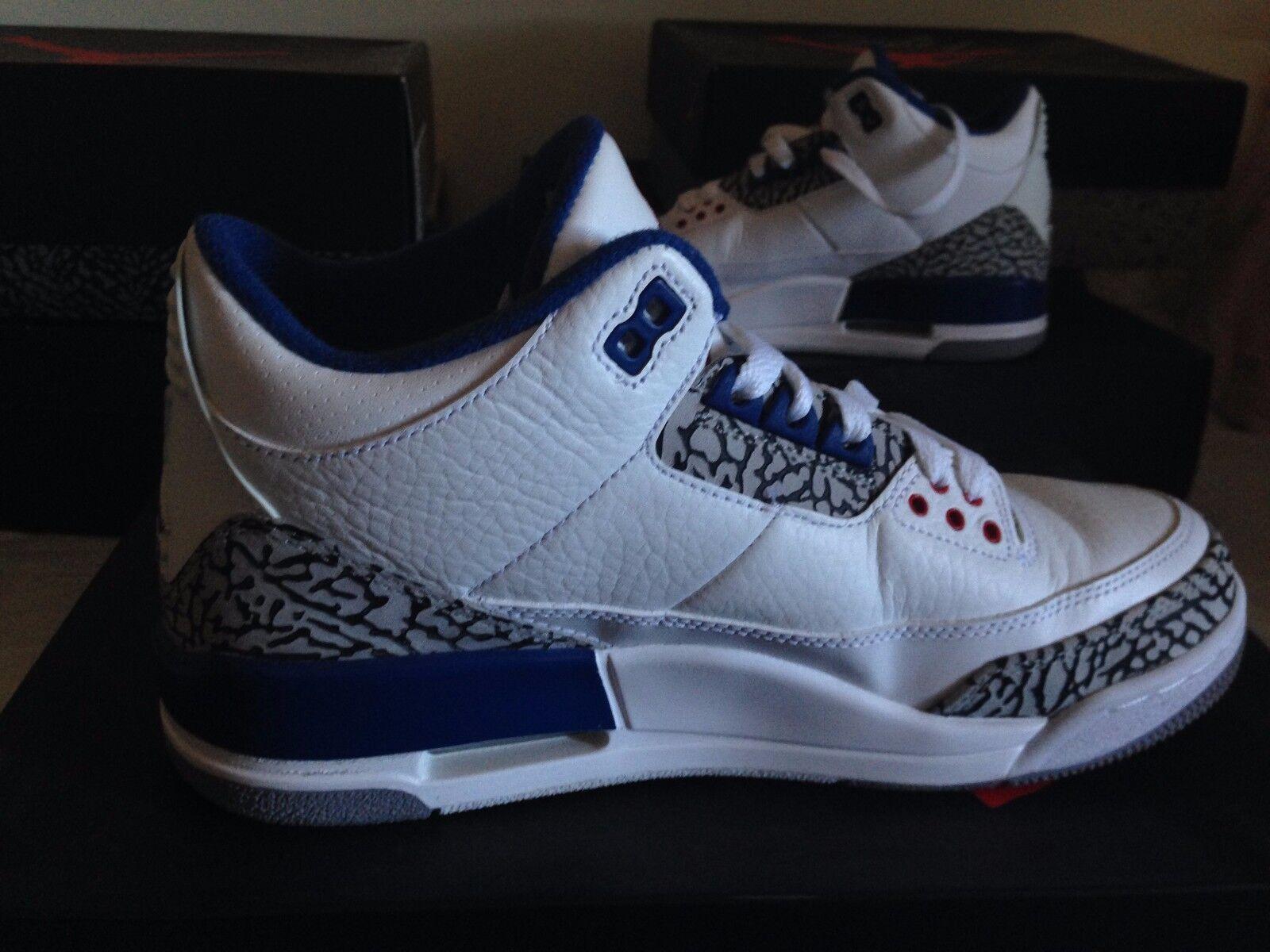 Nike blanc Air Jordan Retro blanc Nike True Bleu Bleu Bleu a5ea62