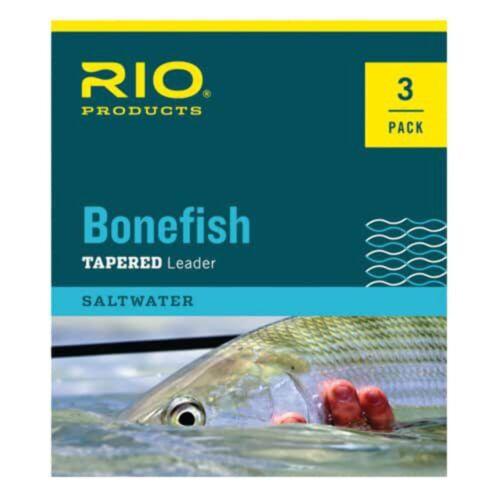 NEW FREE SHIPPING RIO Bonefish Leader 3 Pack