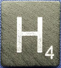 Single Scrabble Diamond Anniversary Wood Letter H Tile Replacement Game Part