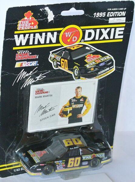 #60 FORD NASCAR 1995 * WINN DIXIE * Mark Martin - 1:43